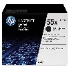 Tonery HP 55X  CE255XD  LJ P3015  Black  2x12500 str.