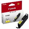 Tusz Canon  CLI-551Y  Yellow  iP7250; MG5450; MG6350