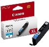 Tusz Canon  CLI-551XL C  Cyan  iP7250; MG5450; MG6350