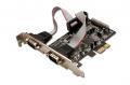 Kontroler I/O 1x LPT + 2 x DB9F PCI-Express