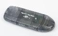 - czytnik kart pamieci USB 2.0  SD  Gembird